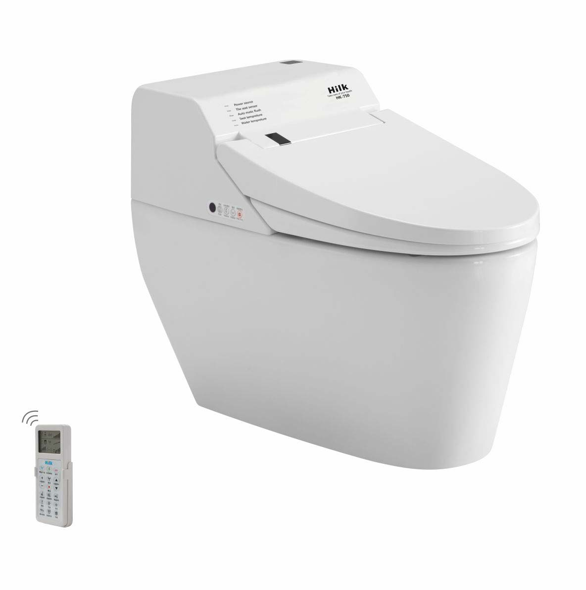 Fashion and Comfortable Chinese Ceramic Smart Intelligent Toilet